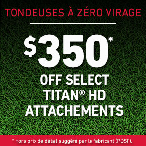 Dollars Off TITAN HD Attachments