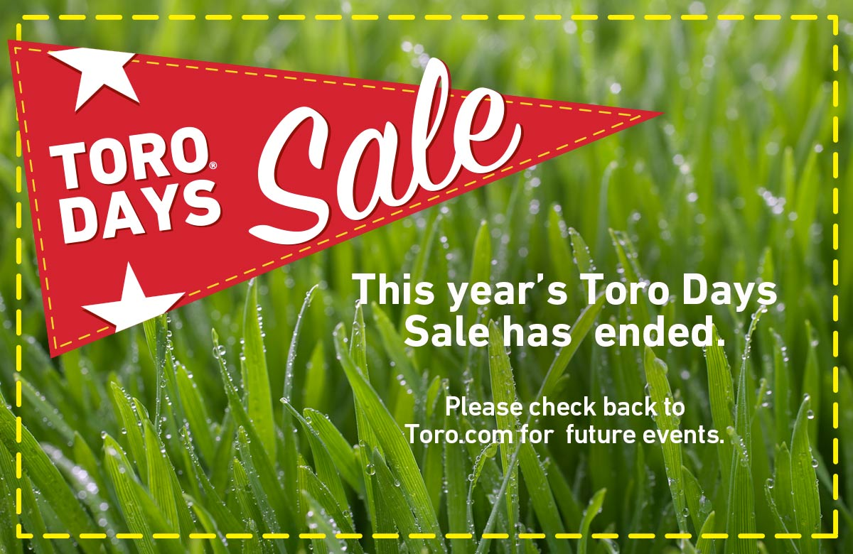 Toro Days has ended. Please check back for new events.