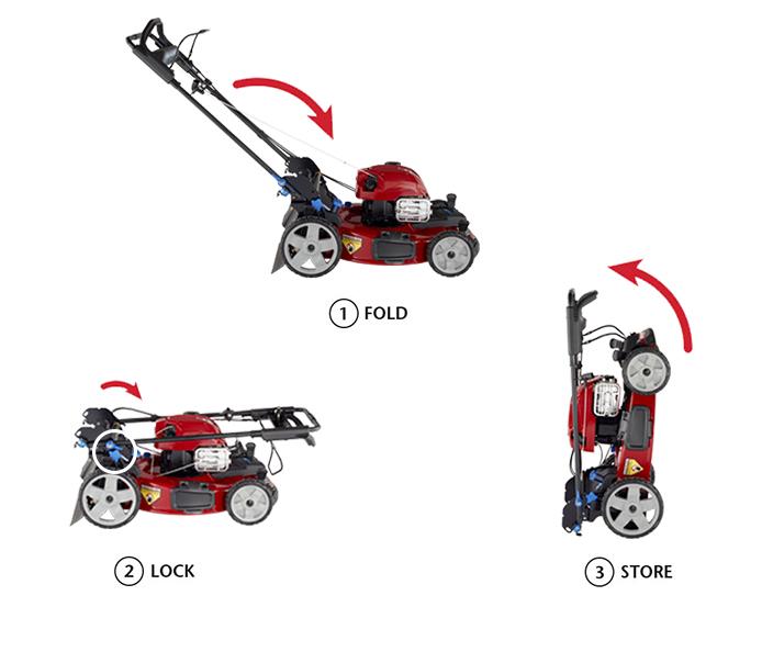 Toro PoweReverse Smartstow Mower
