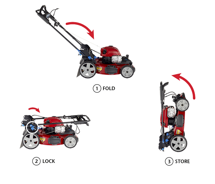 Toro PoweReverse Smartstow Mower