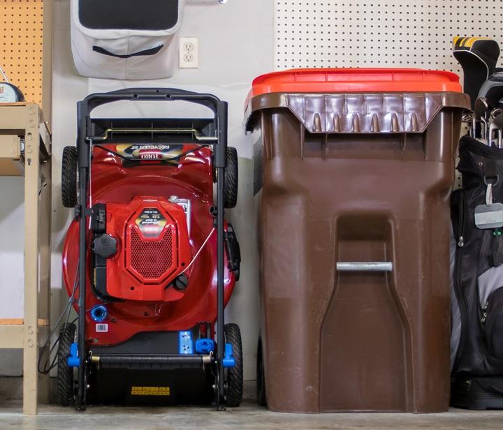 Save space with SmartStow storage footprint