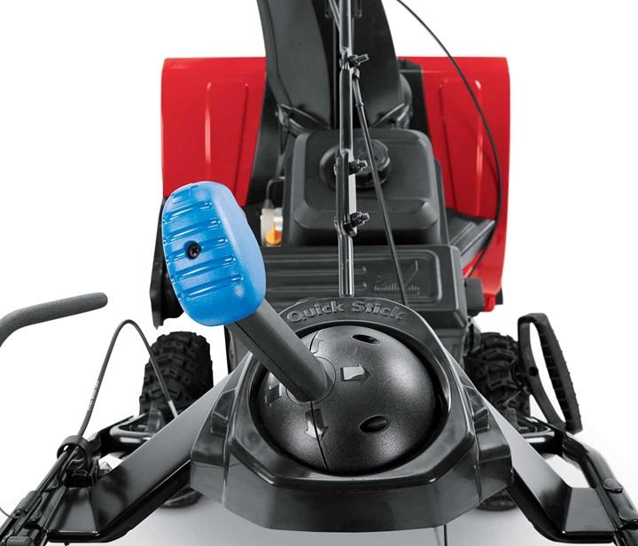 SnowMaster Quick Stick Chute Control