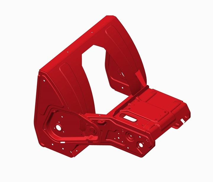 SnowMaster Unibody Frame