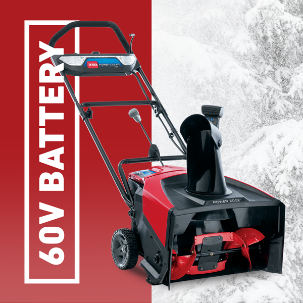 Toro Power Clear 60V Snow Blower