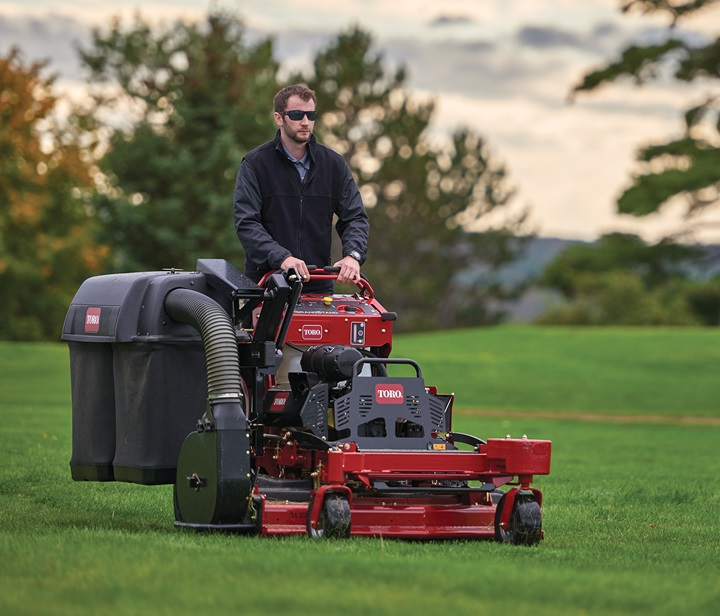 Bagging attachment for GrandStand mowers