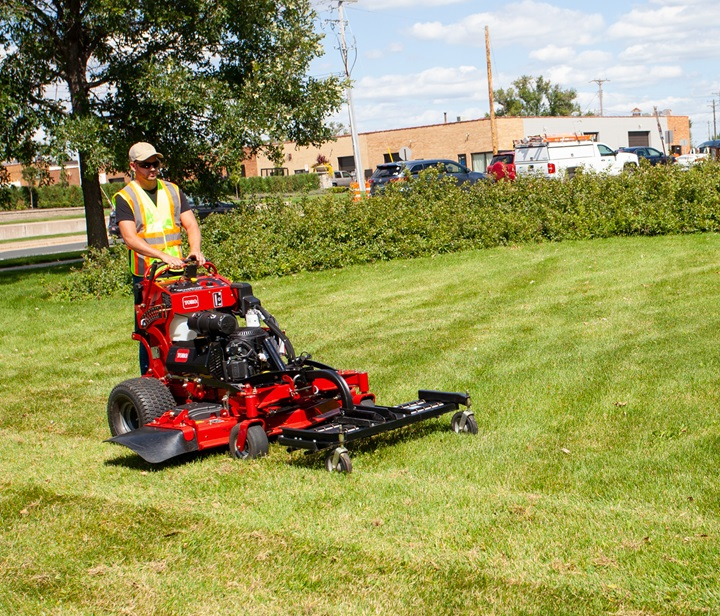 Dethatcher attachment for GrandStand Multi Force mowers