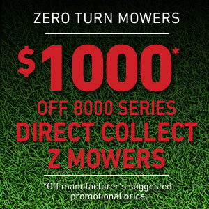 $1000 Off Direct Collect Mower