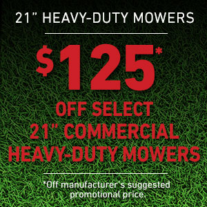 Dollars Off 21' Commercial Heavy Duty