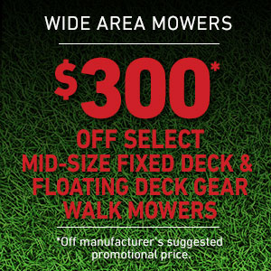 Dollars Off Mid-Size Fixed and Floating Deck