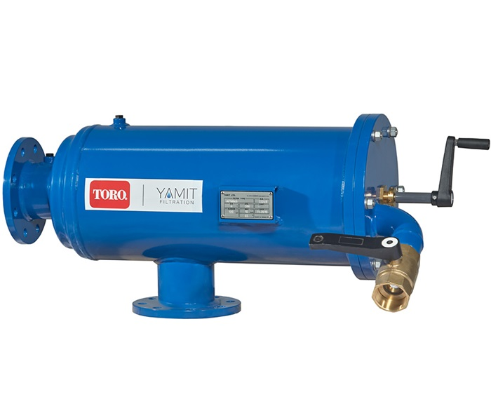 Toro semi auto suction filter for agriculture
