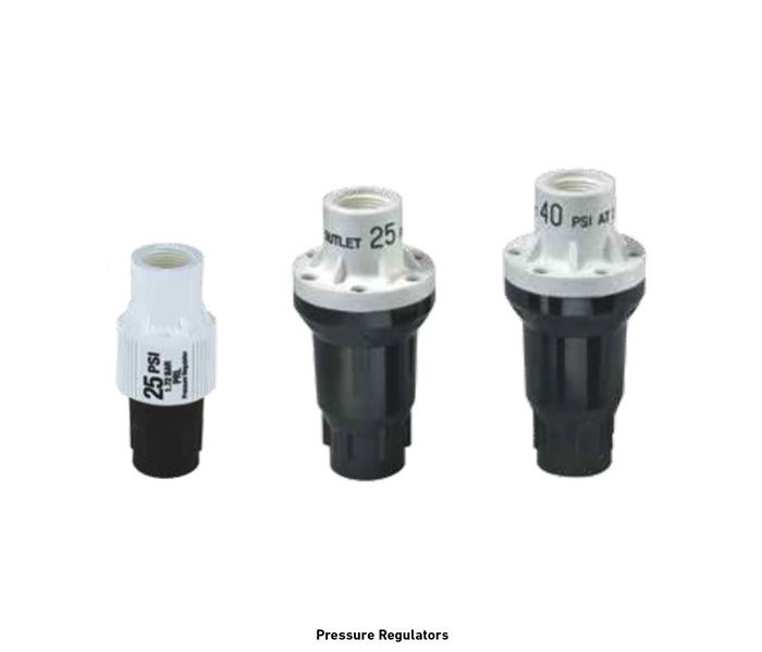 Golf Subsurface Irrigation Pressure Regulators