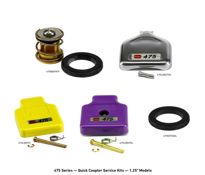 400 Series Quick Coupler Service Kits