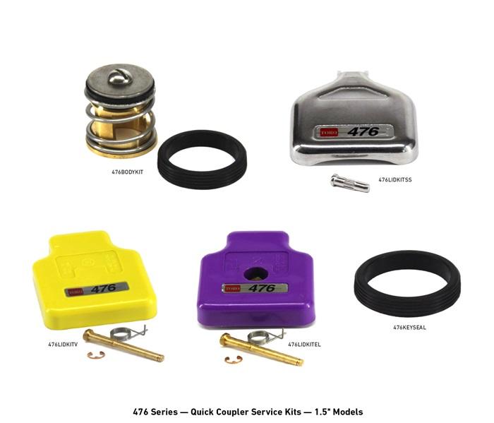 400 Series Quick Coupler Service Kits