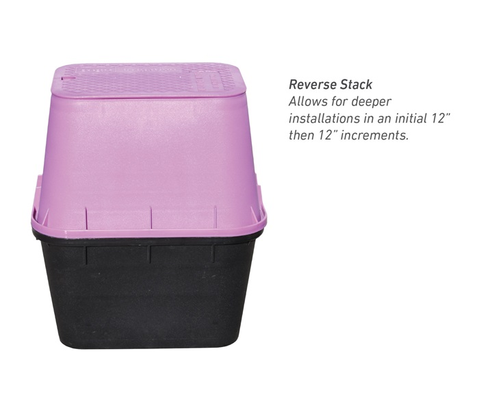 Reverse Stack Valve Boxes