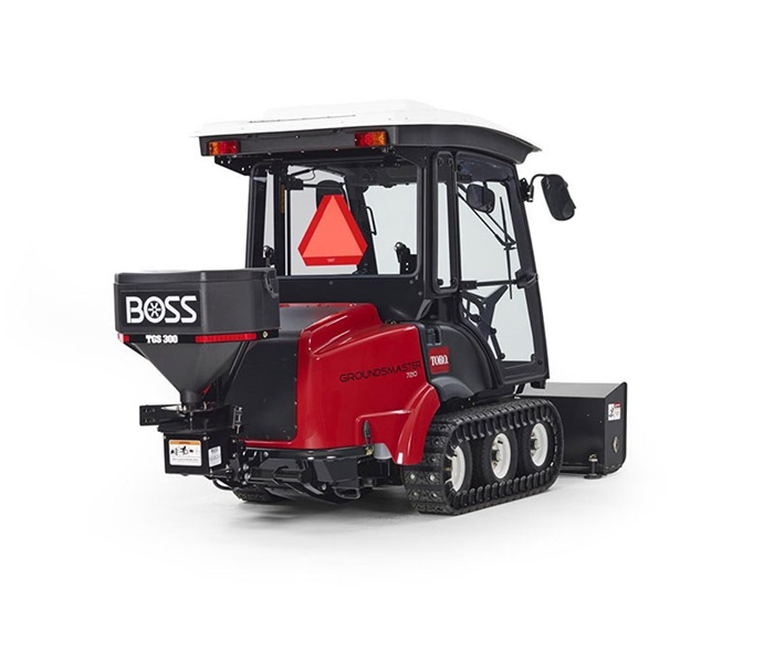 Toro groundsmaster 72007210 polar trac system groundsmaster 7210 boss sreader rear right sciox Image collections