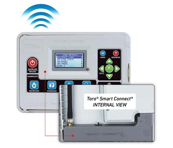 Toro | EVOLUTION® Series Controller Toro Sprinkler Wiring Diagram Six Stations on
