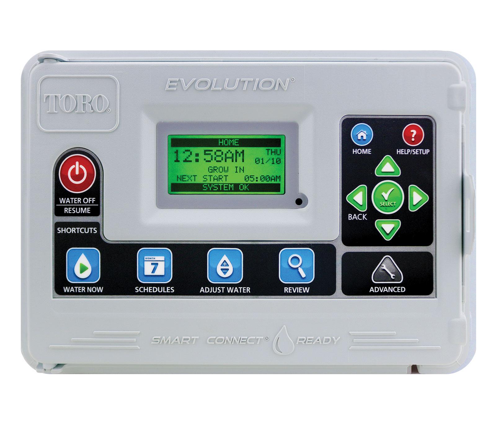 toro evolution series controller rh toro com toro ecxtra sprinkler system manual toro greenkeeper sprinkler system manual