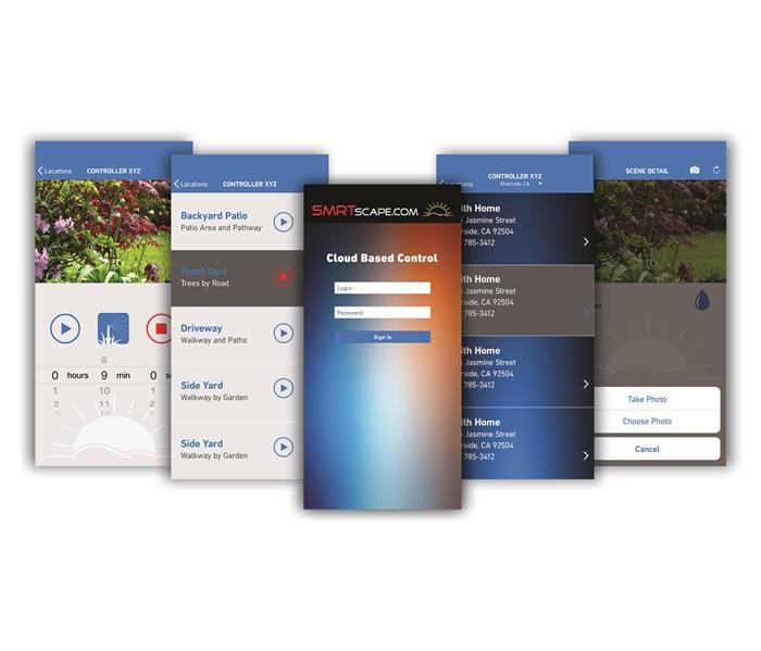 SMRT Logic™ – Mobile App Screens