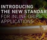 17mm Drip In® Brown Surface Dripline