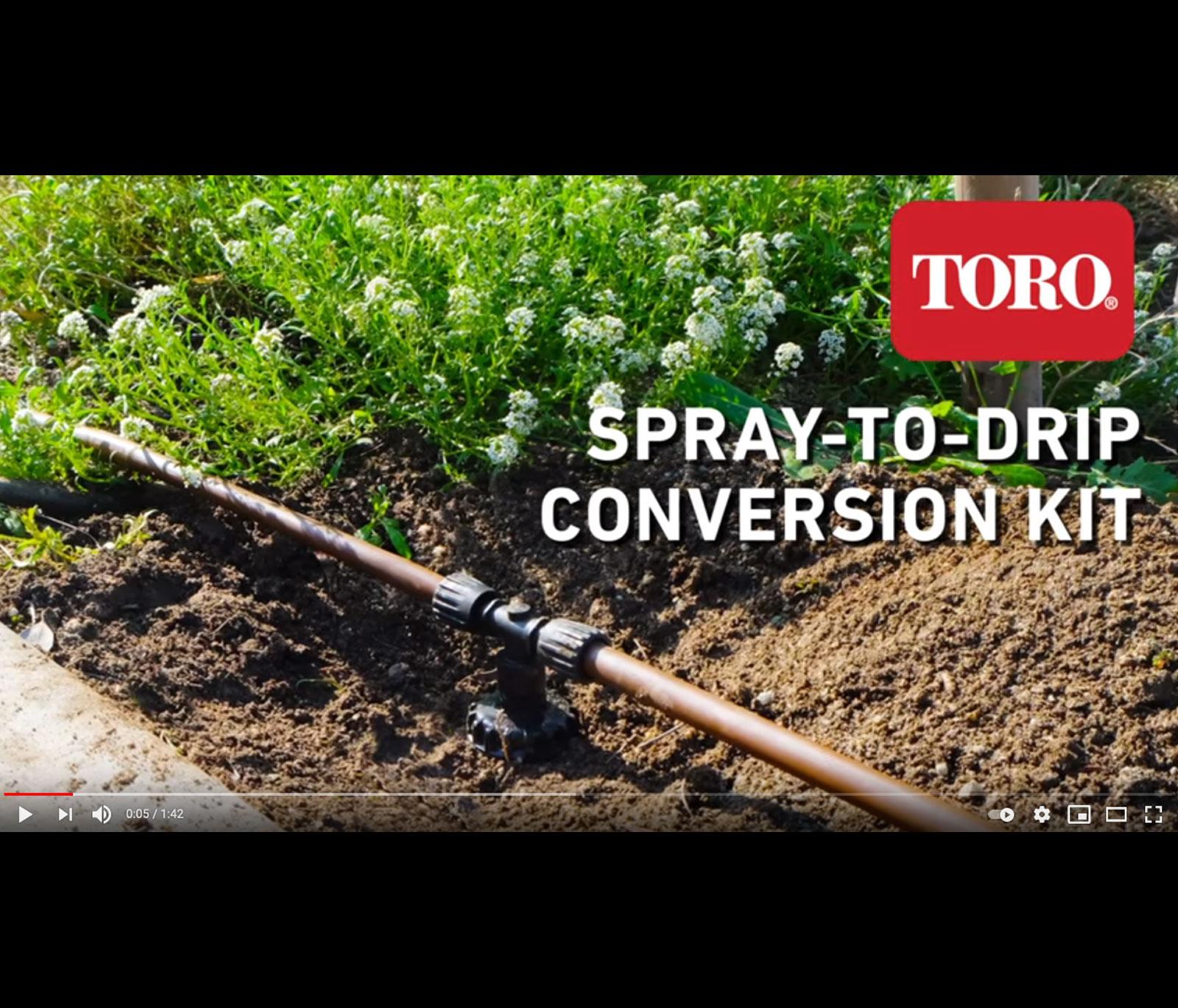 Spray-to-Drip Conversion Kit