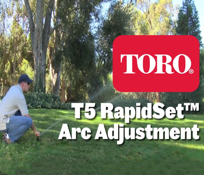 Toro T5 Rapidset Series Rotors