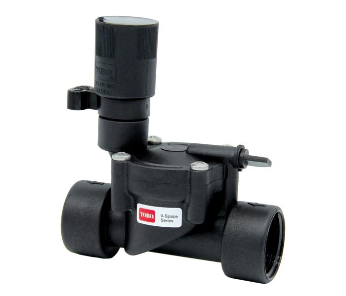 toro v space series valves