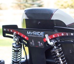 Toro® TimeCutter® MX with MyRIDE® adjustable custom suspension system