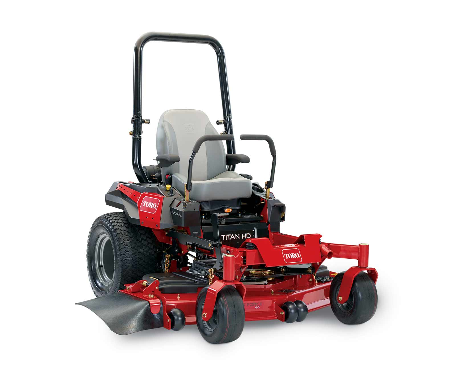 "This review is from60"" (152 cm) TITAN® HD 2500 Series Zero Turn Mower  (74472)."