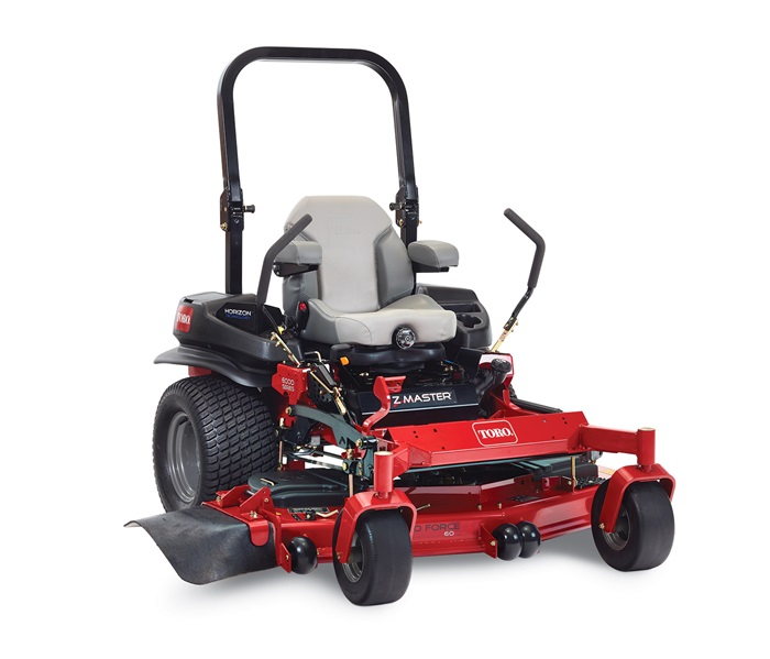 Toro® Z Master® 6000 series zero turn mower model 74969 with Horizon Technology™ right view