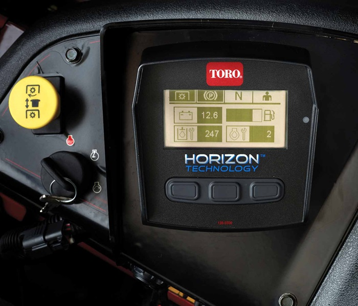Horizon technology on Toro Z Master zero turn mowers