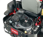 Kawasaki engines on commercial zero turn mowers