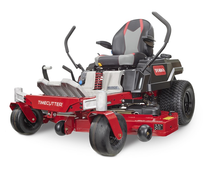 TimeCutter 50 in. IronForged™ Deck 24.5 HP Toro Commercial V-Twin Gas Dual Hydrostatic Zero Turn Riding Mower with MyRIDE®