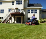 "42"" TimeCutter® IronForged™ Deck Zero-Turn Riding Mower with Smart Speed®"