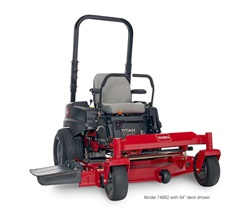 model 74861 titan zx4800 zero turn mower