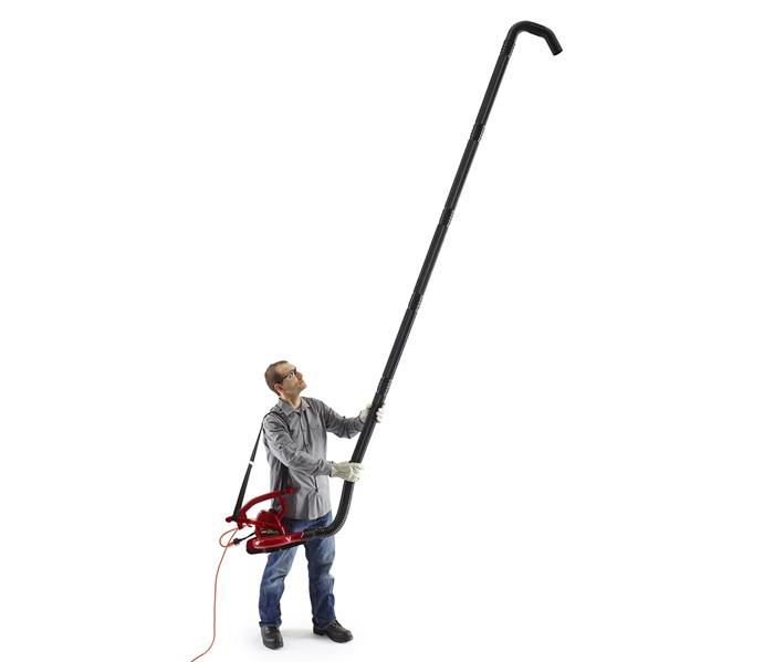 Gutter Cleaner In Use (51667)