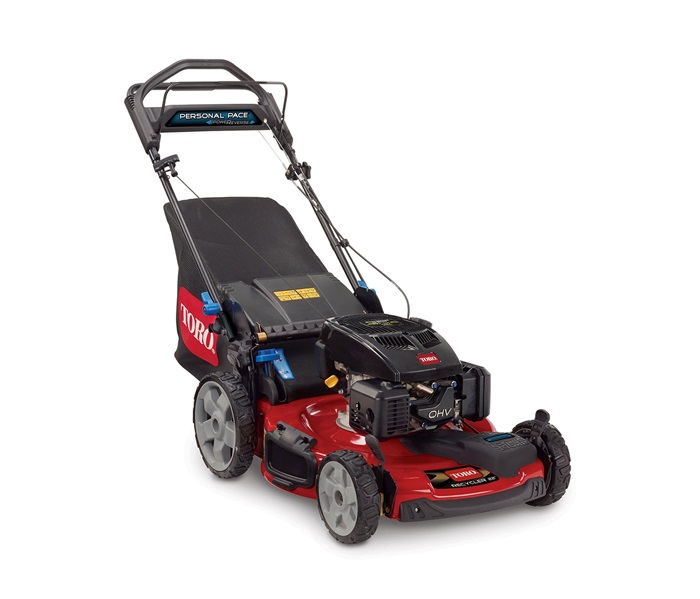 22 56 Cm Personal Pace Everse 50 State Toro Recycler Mower