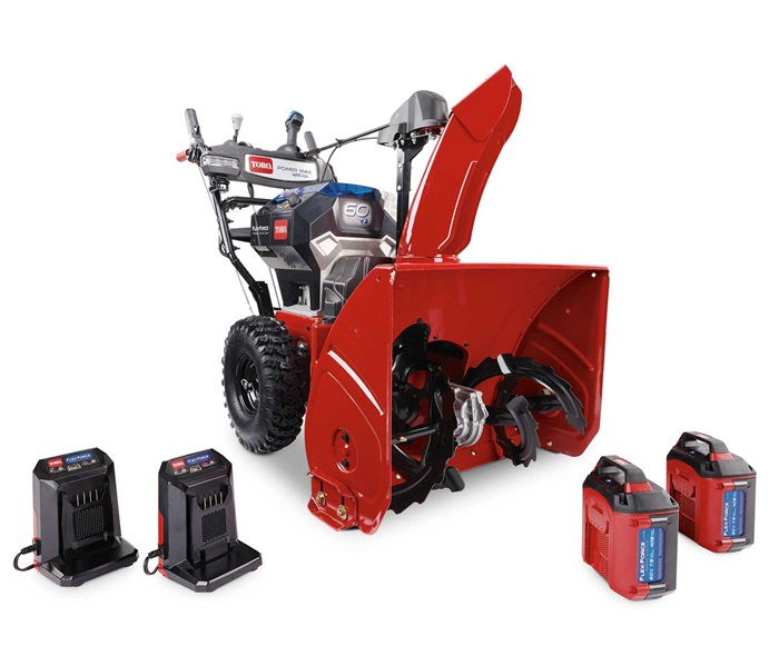 """26"""" (66 cm) 60V MAX* (2 x 7.5 ah) Electric Battery Power Max® e26 HA Two-Stage Snow Blower (39926)"""