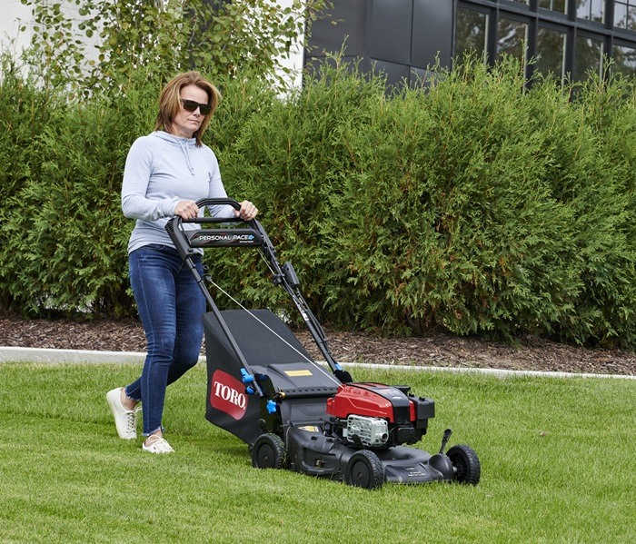 """21"""" (53 cm) Super Recycler® 190cc Briggs & Stratton® Engine Electric Start with SmartStow® and FLEX Handle™ (21387)"""