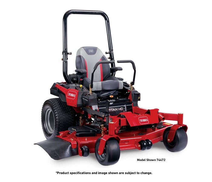 Toro Titan HD 2500 zero turn mower
