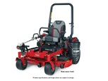 Toro Titan HD 1500 zero turn mower with attachment brackets