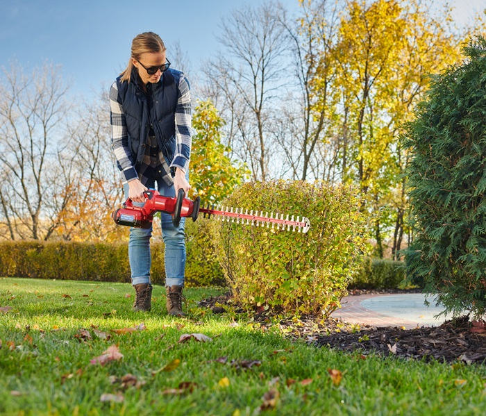 """60V MAX* Electric Battery 24"""" Hedge Trimmer"""