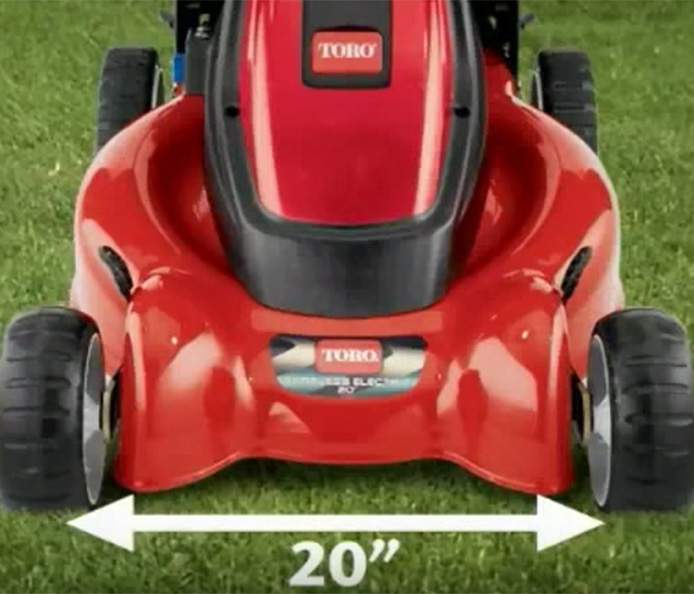 Toro eCycler Cordless Electric Powered Lawn Mower