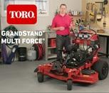 Toro GrandStand Multi Force® product walk-around