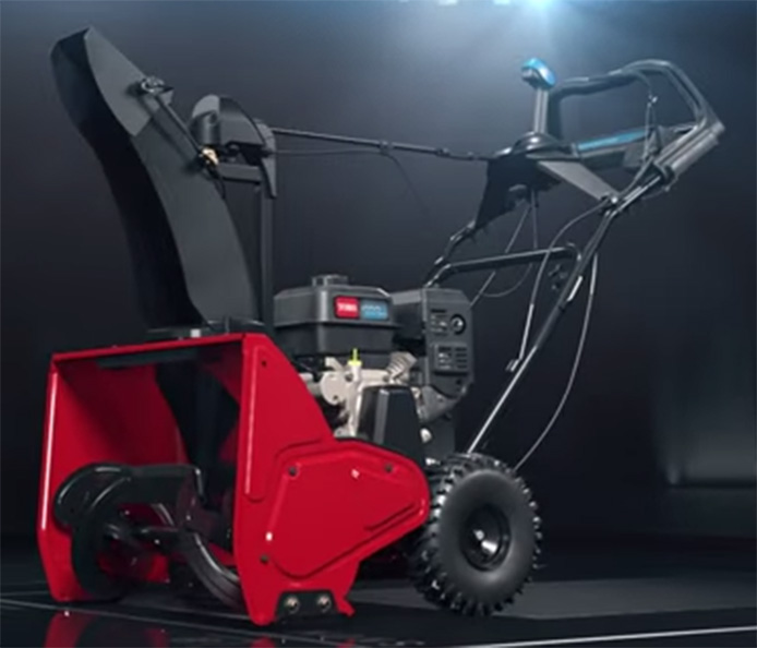 Revolutionary Snowblower from Toro - 3D