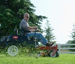 Toro® TimeCutter® MX with MyRIDE® suspension system