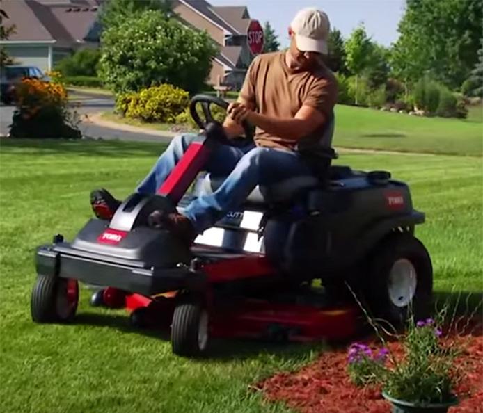 Toro TimeCutter Steering Wheel Z - TV Spot