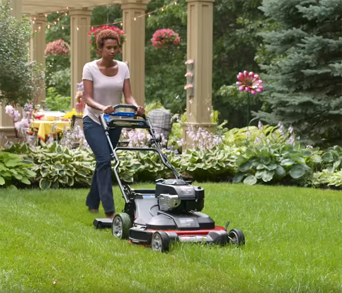 "30"" Wide Lawn Mower Saves 40% of Mowing Time"