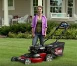 "Toro Timemaster 30"" Lawn Mower - Compact Storage"