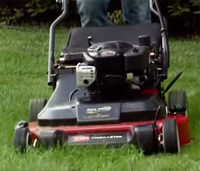 Toro Timemaster 30 Walk Mower Save 40 Of Your Time