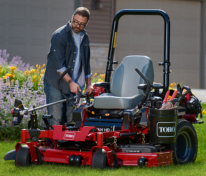 TITAN HD Zero Turn Riding Mower